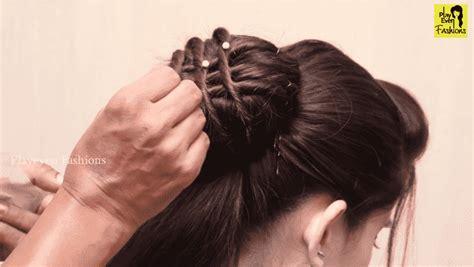 beautiful hairstyle  weddingparty  function