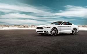 2015 Ford Mustang GT white car wallpaper | cars | Wallpaper Better