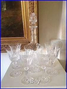 Carafe à Vin Cristal : superbe carafe a vin et 6 verres en cristal saint louis mod le tommy estampillee verres ~ Teatrodelosmanantiales.com Idées de Décoration