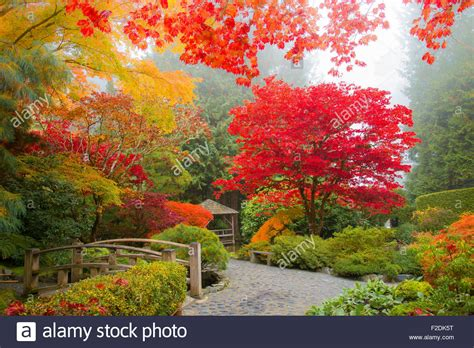 Herbst Garten by Herbst Farben Japanischer Garten Butchart Gardens