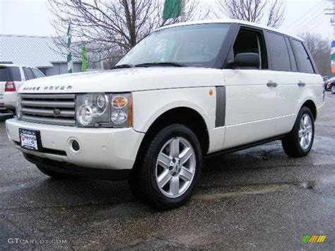 land rover hse white 2003 chawton white land rover range rover hse 24900935