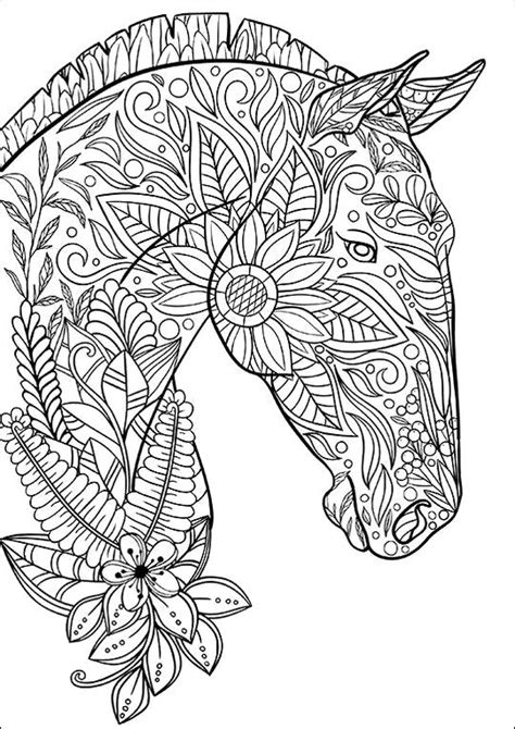 coloring page horse crafts coloring pages horse