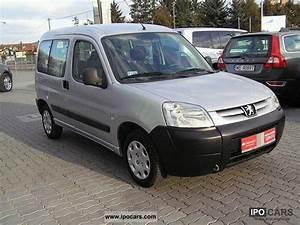 2007 Peugeot : 2007 peugeot partner car photo and specs ~ Gottalentnigeria.com Avis de Voitures