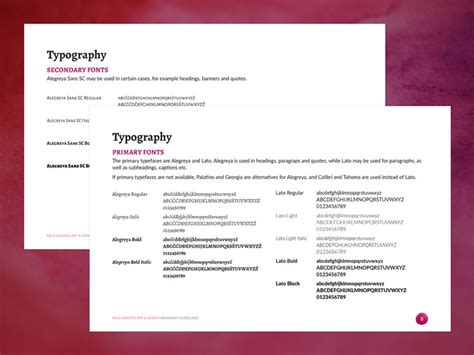 branding guidelines style guides demystified nela dunato art design