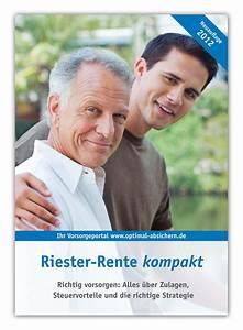 Riester Rente Besteuerung : riester rente steuererkl rung bringt vorteile ~ Lizthompson.info Haus und Dekorationen
