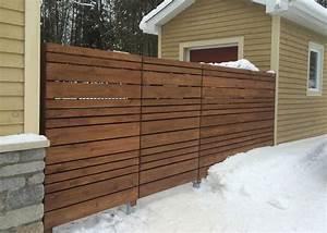 Cloture En Bois : r alisation cloture de bois 1 paysage lambert ~ Premium-room.com Idées de Décoration