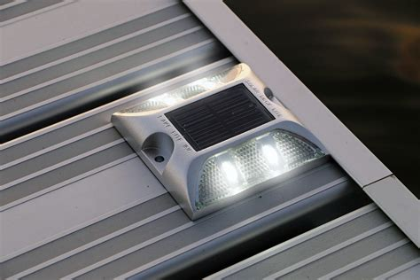 solar led deck lights solar deck lights view all lake lite solar marine