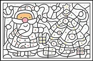 Coloriage Magique En Maternelle Lulu La Taupe Jeux