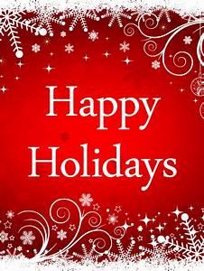 Shiny, Happy, Holidays, Card
