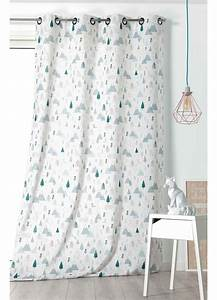 Rideau Occultant Chambre Enfant : rideau enfant esprit nordique vert homemaison vente en ligne tous les rideaux ~ Melissatoandfro.com Idées de Décoration