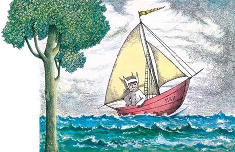 Where The Wild Things Are Max On A Boat by Where The Wild Things Are Illo Max In A Boat Quot Where