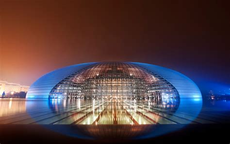 national grand theatre china wallpapers hd wallpapers