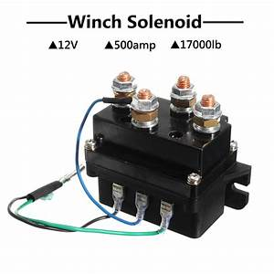 12v 500a Heavy Duty Winch Controller Solenoid Relay Cover Jdf
