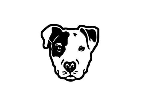 deco cuisine noir et gris stickers tête de chien