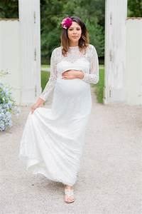 Hochzeitskleid Standesamt Schwanger : schwanger heiraten lange brautkleider f r werdende mamis k ss die braut ~ Frokenaadalensverden.com Haus und Dekorationen