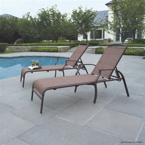 walmart patio chaise lounge chairs mainstays sand dune chaise lounges set of 2