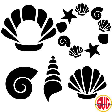shell frames  monograms svgmonograms
