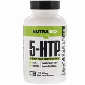 Nutrabio Labs  5-htp  200 Mg  90 V-caps