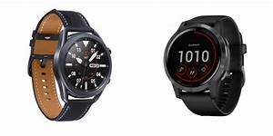 Samsung Galaxy Watch 3 Vs  Garmin Vivoactive 4  Smartwatch