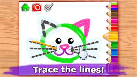 baby drawing  kids preschool educational paint games