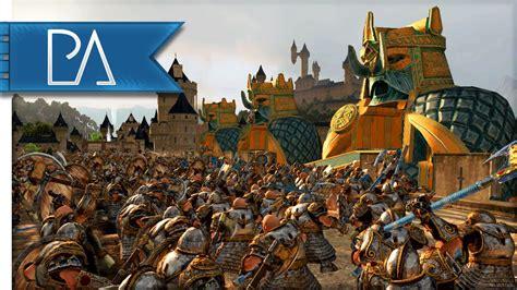 2 total war siege the great siege total war warhammer gameplay
