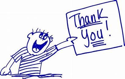 Thank Cartoon Thanks Leadership