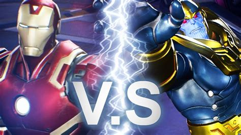 Marvel Vs Capcom Infinite  Iron Man Vs Thanos Battle