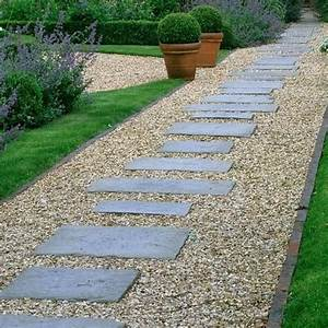 can i build a path with pea gravel and pavers on a slope With modele de jardin paysager 1 jardin zen modernecomment amenager un jardin harmonieux