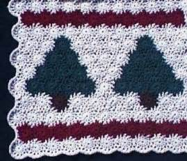 Christmas Tree Crochet Afghan Pattern Free