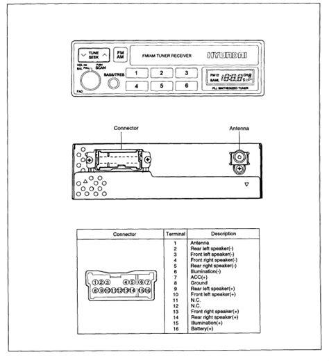 hyundai elantra radio wiring diagram free wiring diagram