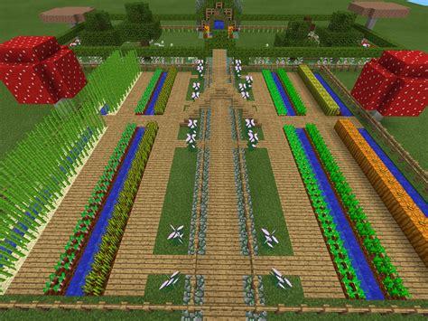 minecraft garden          minecraft
