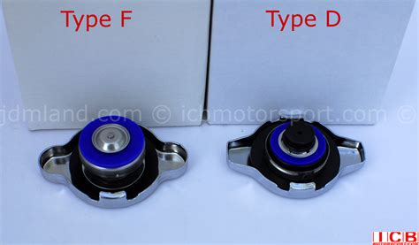 Seeker High Performance Radiator Caps Type D And Type F