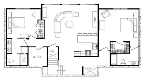 2 floor plans with garage rectangular ranch house with 3 car garage rectangular