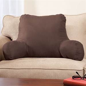 Backrest pillow pillow with arms bed rest pillow for Backrest for reading in bed