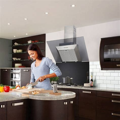 Luxair Angled Cooker Hoods