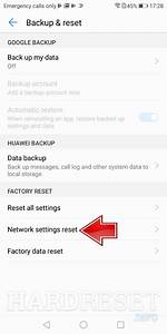 Reset Network Settings Huawei Honor Bee Y541