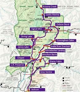 Grand Teton Maps And Info