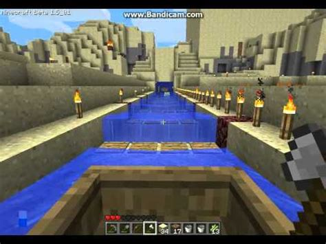 Minecraft Boat Canal by Minecraft Circular Canal Transport System