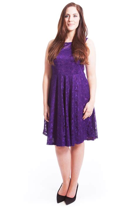 dresses for misses womens dress skater tunic trendy floral lace