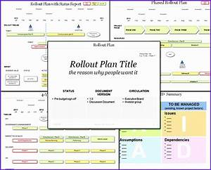 magnificent rollout plan template contemporary resume With project rollout template