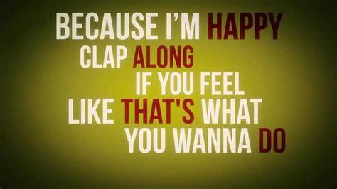 Pharrell Williams  Happy (lyrics Video) Youtube