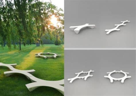campus bench  incentive  attend college designbuzz