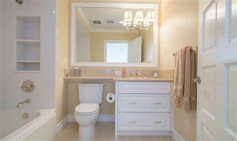 Choosing Custom Bathroom Cabinets Over Toilet