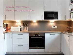 Weiße Arbeitsplatte Küche : weisse kueche renoviert arbeitsplatten fronten haushaltsgeraete ~ Sanjose-hotels-ca.com Haus und Dekorationen