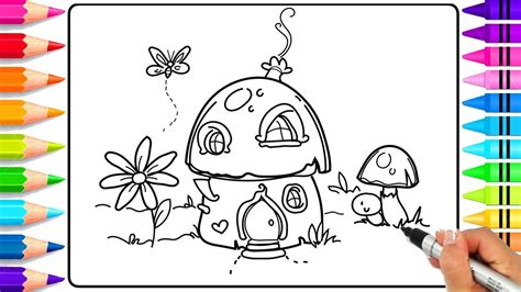 draw  fairy garden step  step  kids fairy