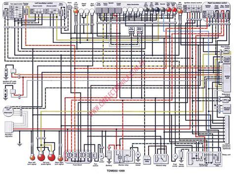 1999 Yamaha R1 Ignition Wire Diagram by Diagrama Yamaha Tdm850 99