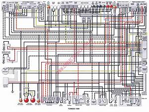 Diagrama Yamaha Tdm850 99