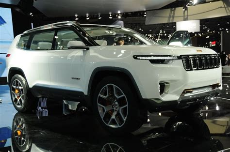 Jeep Grand Future Models by Jeep 2018 Yuntu Concept Shanghai Show Jeep S China Only