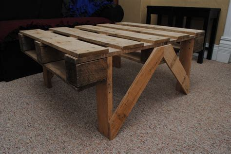 pallet coffee table all