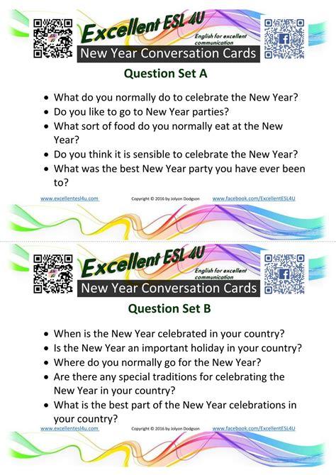 esl  year conversation